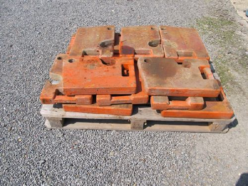 Fiat Crawler Front End Weights